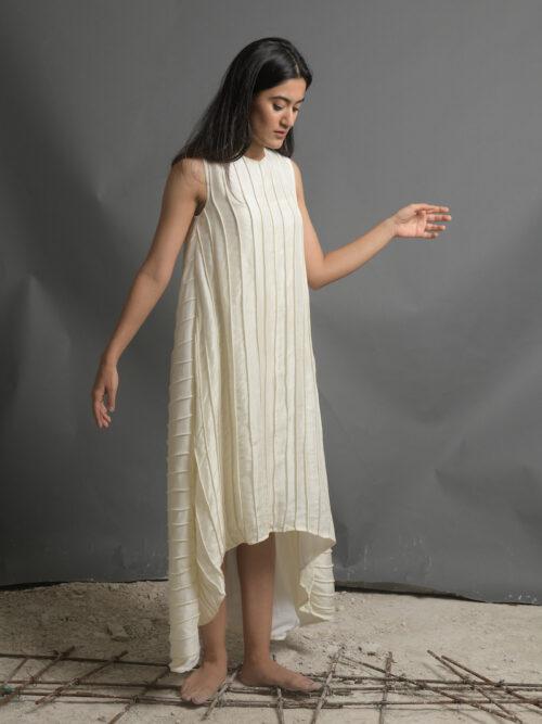 CAPTIVATING CORDED DRESS